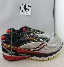 Saucony Ride 8 Running Shoe Silver, Red, Black Men's US 9 EUR 42.5 (I,0)