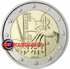 2 Euro Commémorative Italie 2009 - Louis Braille