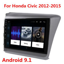 "9"" Android Radio Stereo Head Unit For 12-15 Honda Civic GPS Navigation 2GB+32GB"