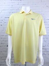 Men's Nike Dri-Fit Golf Polo Shirt Large Yellow Wpx Energy New