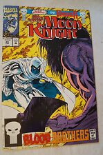 CLASSIC MARVEL COMIC BOOK - Marc Spector - Moon Knight w/ The Punisher