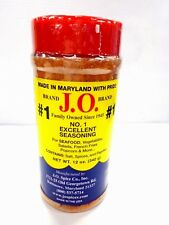 J.O. Spices Maryland Co.#1 Excellent Crab & All Seafood Seasoning - 12 Oz Jar