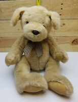 RUSS BERRIE Golden Puppy Dog Plush POOCHES Stuffed Animal EUC!