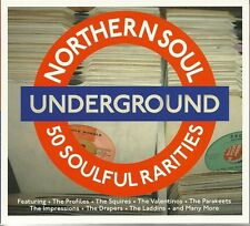 NORTHERN SOUL UNDERGROUND - 2 CD BOX SET - 50 SOULFUL RARITIES