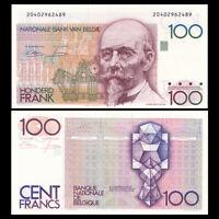 Belgium 100 Francs, ND(1978), P-142, UNC