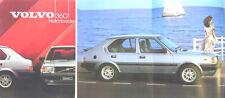 Volvo 360 Hatchback GLS GLT 1984 Original UK Sales Brochure No. BV 1323-84
