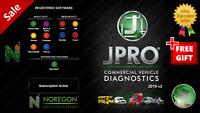 Noregon JPRO 2019 V1 and V2 *** DIAGNOSTICS
