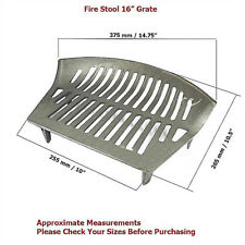 """STOOL ROUND FRONT 16"""" FIRE GRATE"""
