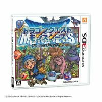 USED Nintendo 3DS Dragon Quest Monsters Terry's Wonderland 07337 Japan Import