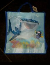 Disney Pixar Finding Dory Reusable Tote Bag - whale and dory 13X12.5X5 NWT