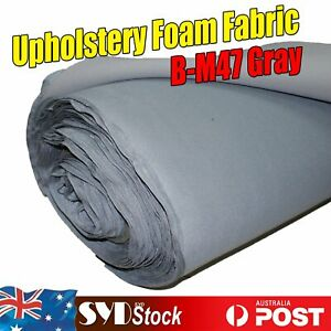 Premium Headliner Fabric Gray Replace Fix Falling Down Worn Match Car Roof Color