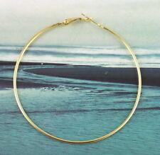 50 PCS Gold plate earring hoop 70mm #20588