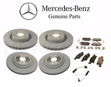 Mercedes X166 GL-Class Front & Rear Brake Disc Rotors Pads and Sensors Genuine