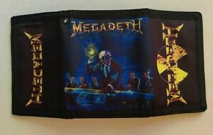 Megadeth - Wallet Trifold Rust In Peace Peace Sells Killing is my Business