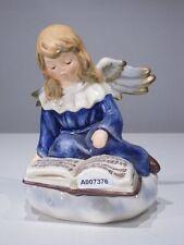 +# A007376_01 Goebel Archiv Muster Engel singt Lied Stille Nacht, blau 41-014