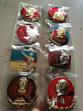 Chairman Mao badge souvenir badge 10 Mao Zedong badge number set