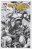Broken Trinity 2 (Aug 2008, Image) [Keown Sketch Variant] Witchblade Darkness va