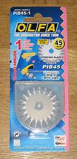 Olfa pib45 45mm Rotary pinking Cortador De Hoja De Repuesto-se adapta a Pik-2 & rty-2 / Dx)