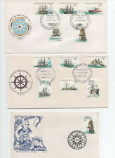 Australian A.T. Fdc's x 3 See Scans. Super Cond. Free Post