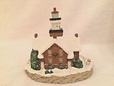 Harbour Lights 700 Big Bay Point, Mi Christmas 1995 Lighthouse. Original Box