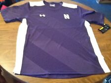 Under Armour Northwestern Soccer Jersey, Mens Large, Loose Fit, Nwt