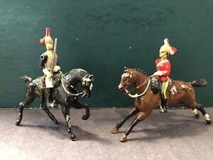 Britains: A Fine & Unique Converted British Horse & Life Guard, c1900