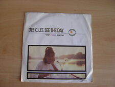 "Dee C.Lee: See The Day  7"": 1985 UK Release: Picture Sleeve"