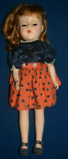 Vintage 1950s Hard Plastic American Character Doll Usa