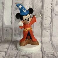 Disney Mickey Mouse Sorcerers Apprentice Figurine Vintage 90s Porcelain