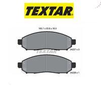 2422701 Kit pastiglie freno a disco ant.Nissan-Suzuki (MARCA-TEXTAR)