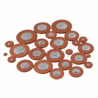 25PCS Sax Leather Pads For Tenor Saxophone orange