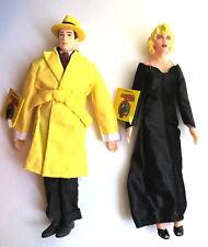 "1990's Walt Disney's Dick Tracy &  Breathless Mahoney 9"" Dolls *Applause NWT NOS"
