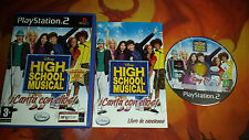 HIGH SCHOOL MUSICAL CANTA AVEC ELLOS! PLAYSTATION 2 PS2