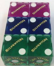 Casino Dice - Silverton Hotel Pair Matching Used Dice Las Vegas Nv - Free S/H *