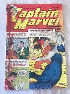 CAPTAIN MARVEL ADVENTURES #133-FAWCETT-CC BECK-1952-GOLDEN AGE GOOD 2.0