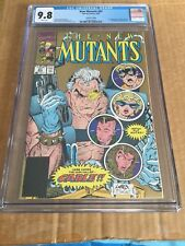 THE NEW MUTANTS #87 CGC 9.8 1st Appearance of Cable 2nd print variant