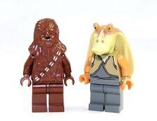 Lego Star Wars™ Figurine Chewbacca et Jar Jar Bings MINI FIGURINES 2 pièces