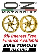 Yamaha YZF600 R6 03-16 OZ Gass Wheels Gold 0% Interest Free Available