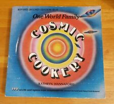 Cosmic Cookery Hannaford Vegetarian Cookbook Revised 2nd Edition Paperback 1974