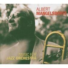 ALBERT MANGELSDORFF - MUSIC FOR JAZZ ORCHESTRA  CD NEW+