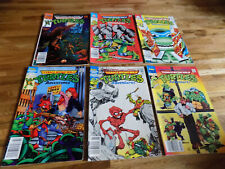 Teenage Mutant Ninja Turtles Adventures Lot 6 Eastman and Laird's Comic book