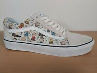 BNIB Vans X Peanuts Collaboration Snoopy Charlie Lucy Pattern Old Skool UK 8