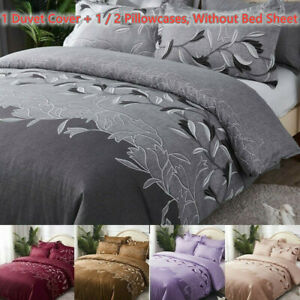 Classic Bedding Set Bed Linen Duvet Cover Set Without Bed Sheet Home-6 Size