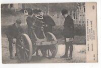 WW1 Mortier Allemand de 165 Vintage 1914-15 Postcard Military France 964b