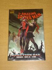Spiderman AMAZING giorno delle elezioni MARVEL COMICS RILEGATO GN 9780785133957