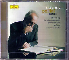 Maurizio POLLINI SCHOENBERG Piano Concerto Klavierstücke WEBERN Variation ABBADO