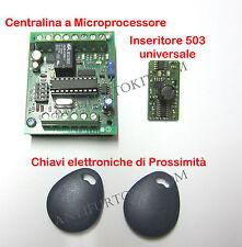 Kit Inseritore Elettronico a CHIAVE di Prossimità Universale Trasponder RFTAG