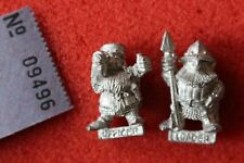 Citadel C22 Imperial Dwarf Bolt Thrower Loader Operator Crew 2x Metal Dwarves GW