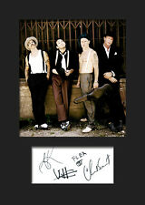 RED HOT CHILLI PEPPERS #1 Signed Photo Print A5 Mounted Photo Print - FREE DEL