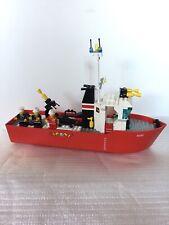 Lego Legoland Set Number 4020 Fire Fighting Boat 1987 Missing 1 Minifigure